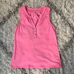 Pink Essie Top